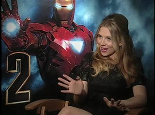 Scarlett Johansson. (Iron Man 2)- Interview