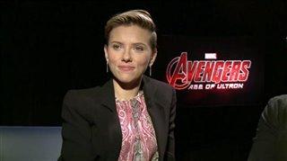 Scarlett Johansson & Mark Ruffalo (Avengers: Age of Ultron)- Interview Video Thumbnail