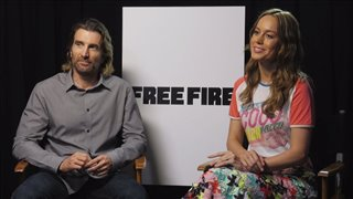 sharlto-copley-brie-larson-interview-free-fire Video Thumbnail