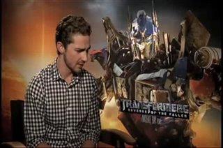 Shia LaBeouf (Transformers: Revenge of the Fallen)- Interview Video Thumbnail