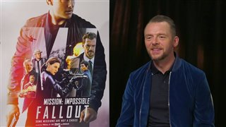 Simon Pegg talks 'Mission: Impossible: - Fallout'- Interview Video Thumbnail