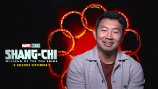 Simu Liu talks 'Shang-Chi and the Legend of the Ten Rings' - Interview Video Thumbnail