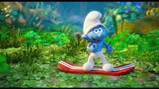 "Smurfs: The Lost Village Movie Clip - ""Smurf Boarding"" Video Thumbnail"