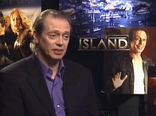 STEVE BUSCEMI - THE ISLAND- Interview Video Thumbnail