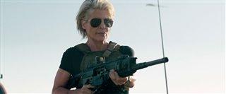 "'Terminator: Dark Fate' Movie Clip - ""Sarah's Entrance"" Video Thumbnail"