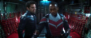 """THE FALCON AND THE WINTER SOLDIER Clip - """"What's the Plan?"""" Video Thumbnail"""
