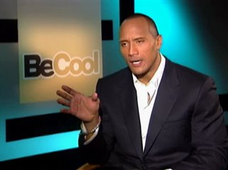 THE ROCK - BE COOL- Interview Video Thumbnail