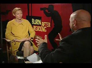 Tilda Swinton (Burn After Reading)- Interview Video Thumbnail