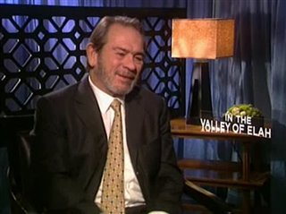 Tommy Lee Jones (In the Valley of Elah) - Interview Video Thumbnail