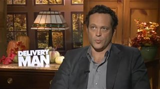Vince Vaughn (Delivery Man) - Interview Video Thumbnail