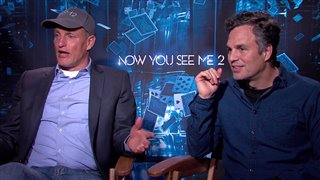 Woody Harrelson & Mark Ruffalo - Now You See Me 2- Interview Video Thumbnail