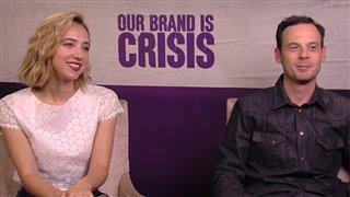 Zoe Kazan & Scoot McNairy - Our Brand Is Crisis- Interview Video Thumbnail